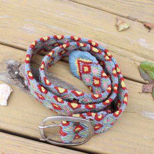 Jenny Kraus BOHO Wool Belt Made in Peru S